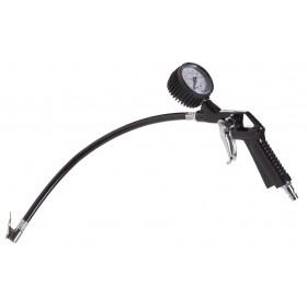 ATM 1041 Pistol pneumatic pentru umflare cu manometru FERM